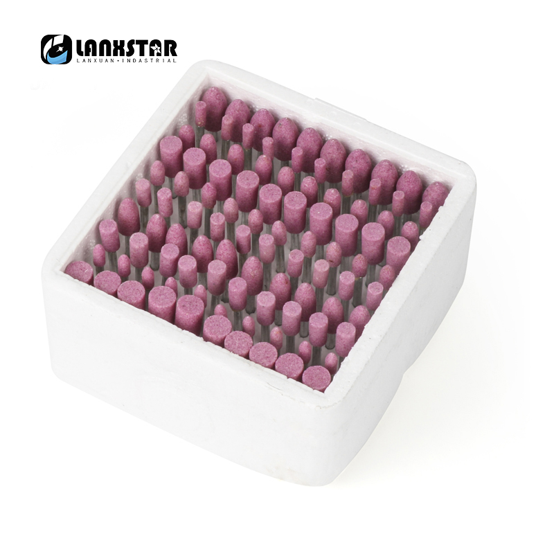 High Quality 100 Pcs/box Assorted Ceramic Mounted Point Grinding Stone Head Wheel Dremel Drill Rotary Tools In Stock