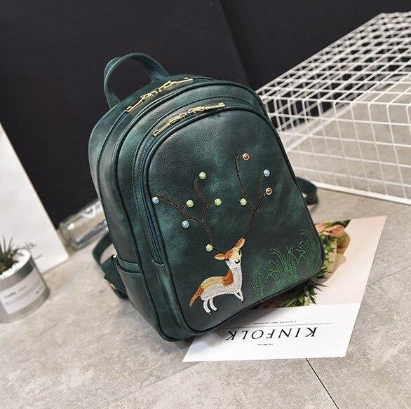 Kawaii deer unisex baby Backpack bolsa infantil Korean School Backpacks Mochila Infantil Backpacks For children boys girls