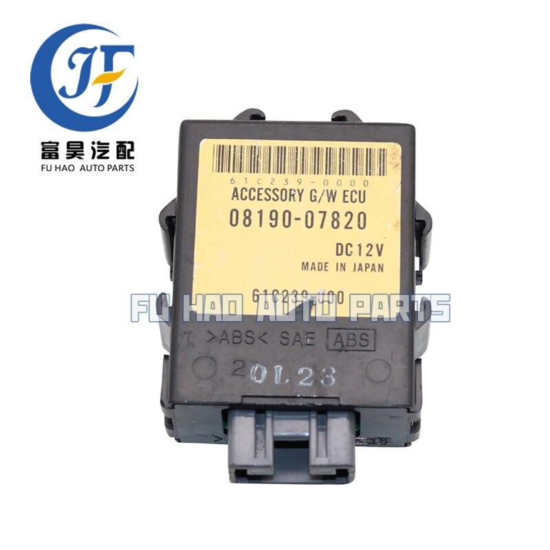 Véritable OEM accessoire G/W ECU Module de commande pour Toyota Avalon 08190-07820 61C239-000