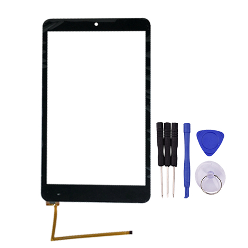 High Quality Black New for OLM-080D0838-FPC ZJX 5J 8 inch Touch Screen Digitizer Glass Sensor Replacement Parts new 8inch touch screen rp 275a 8 0 fpc a2 digitizer sensor tablet pc replacement parts panel front glass high quality black