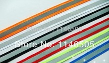 30meter/lot ( 5 meters*6 colors) Color fluorescent reflective safety clothing accessories decorated ribbons 1cm