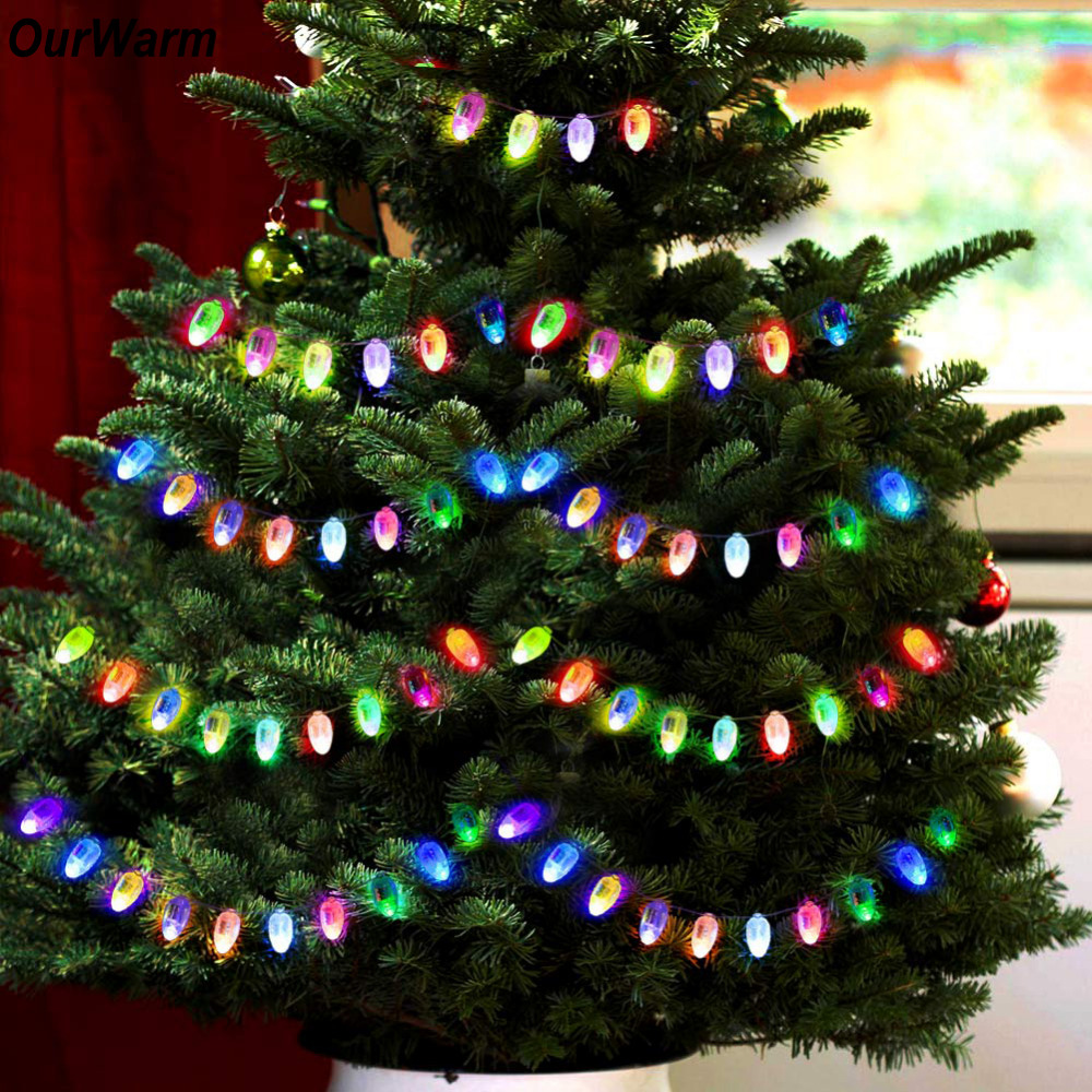Ourwarm 10pcs Mini Led Balloons Lamp Christmas Decorations For Tree  Christmas Lights Outdoor Decoration Event Party