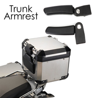 For BMW r1200gs F800gs F700 650GS ADV Trunk Armrest Aluminum Tail Box For Honda CRF1000l Africa Twin For Ducati Multistrada