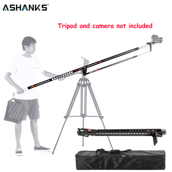 ASHANKS Photography Portable Jib Crane Foldable Aluminum Pro Fotografica DSLR Video Jib Arm Camera Crane Machine with Carry Bag