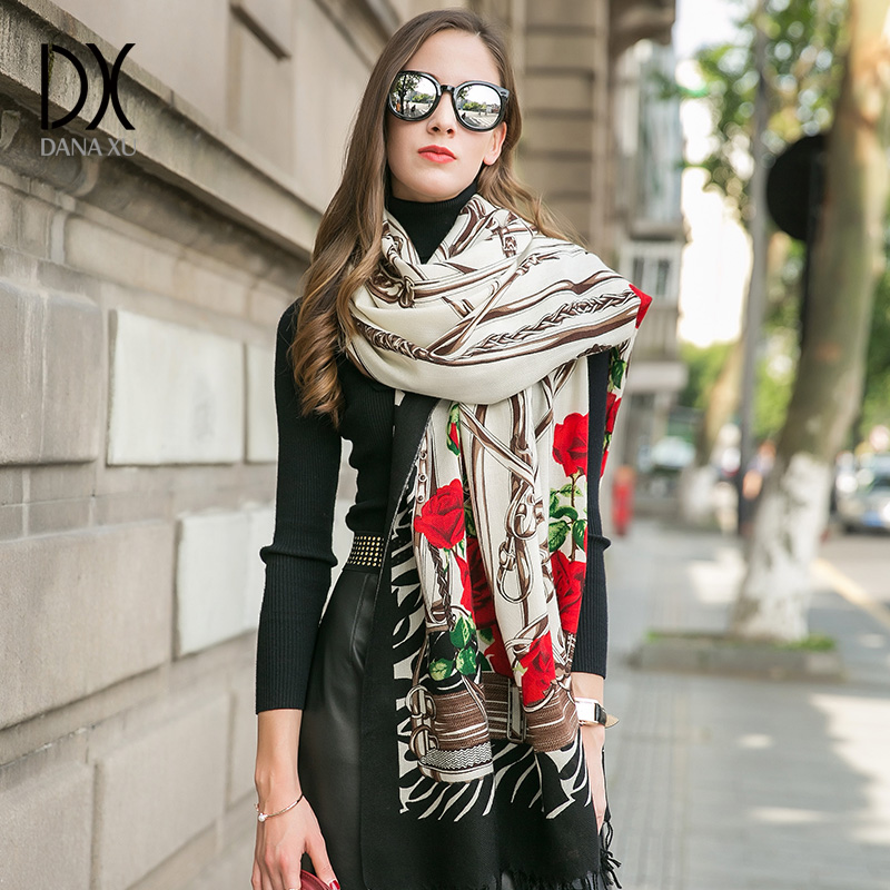 Women Winter Scarf Luxury Brand Foulard Femme Muslim Hijab Cachecol Pashmina Shawls And Wraps Shawl Face Shield Shawls and Wraps