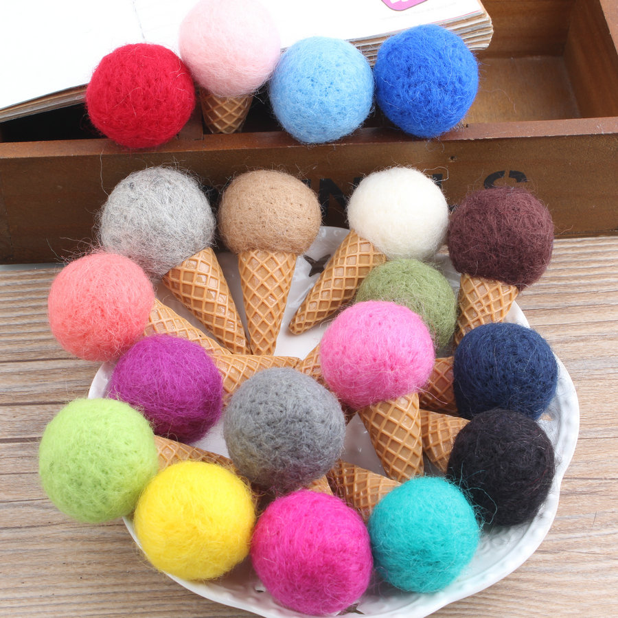 Wool felt ornaments - Wool Felt Ornaments