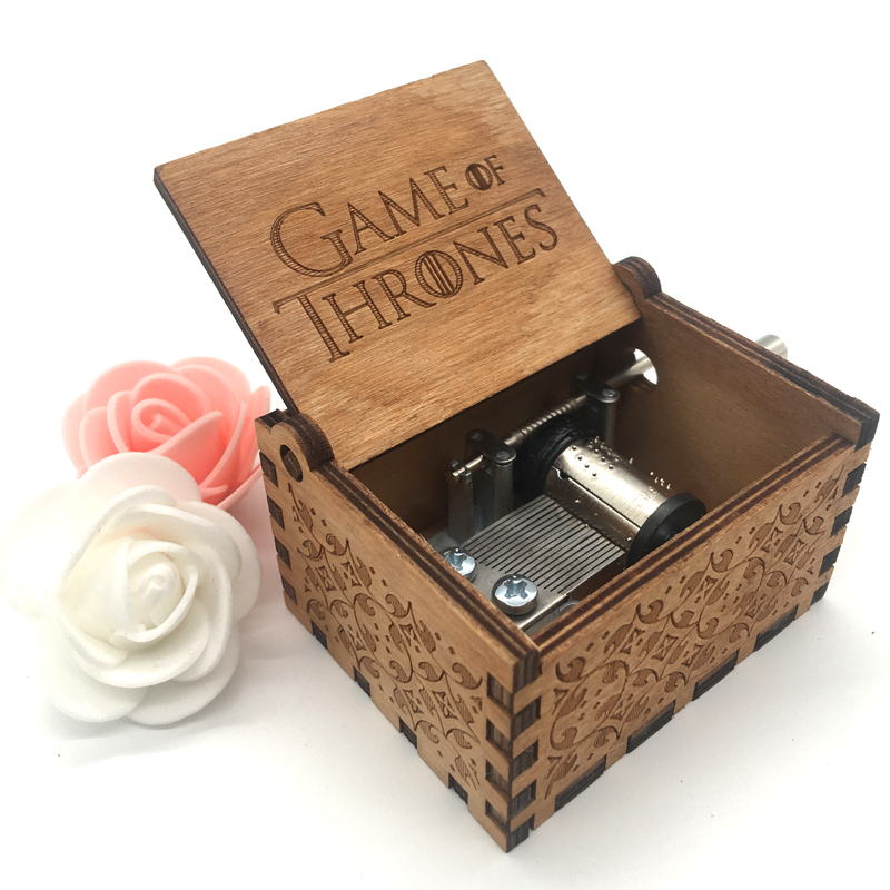 Pirates of the Caribbean Music Box Game of Thrones <font><b>Harrypotter</b></font> Music Boxes Handmade Wooden Musical Boxes Gift Caja de musica image