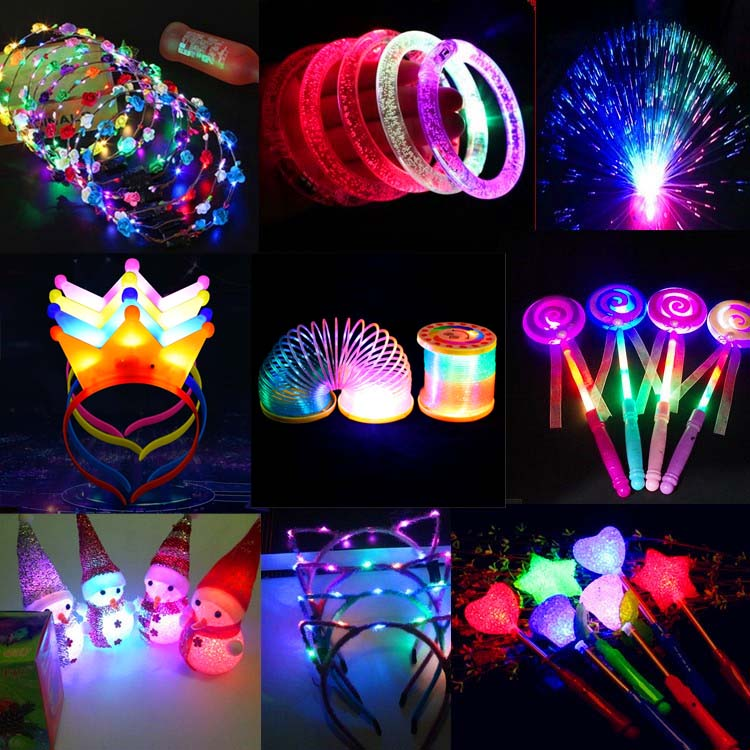 LED Light Up Flashing Fiber Optic Crown Headband Princess Costume Cosplay Toy