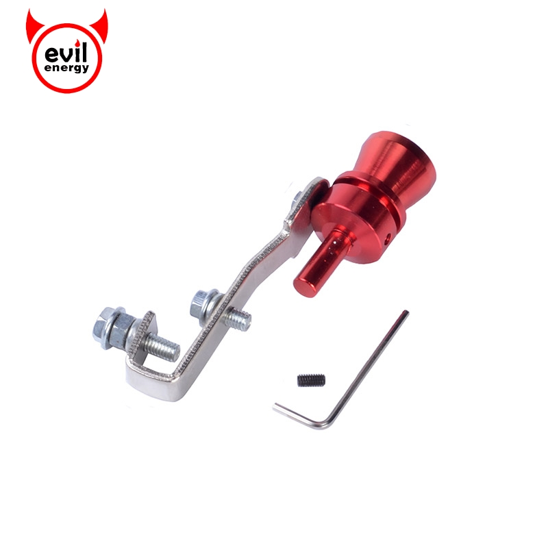 Universal Turbo Exhaust Whistle: Evil Energy Universal Turbo Sound Whistle Muffler Exhaust