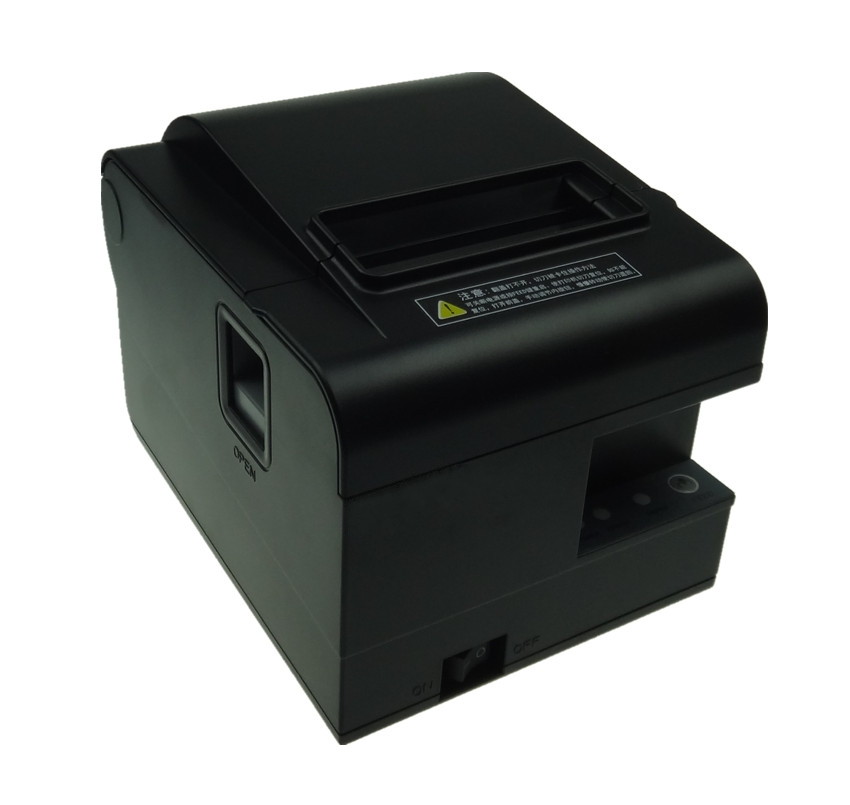 wholesale brand new 80mm receipt bill printer High quality  Small ticket POS printer automatic cutting printing speed Fast serial port best price 80mm desktop direct thermal printer for bill ticket receipt ocpp 802