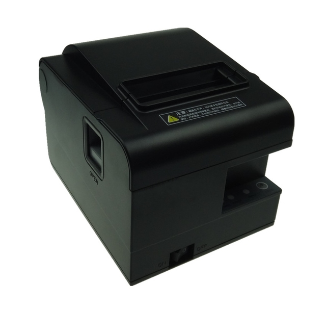 wholesale brand new 80mm receipt bill printer High quality  Small ticket POS printer automatic cutting printing speed Fast