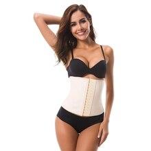 25cm Height Big Hooks Women Post Natal Postpartum Slimming Underwear Shaper Recover Shapewear Waist Corset Girdle Black/Apricot
