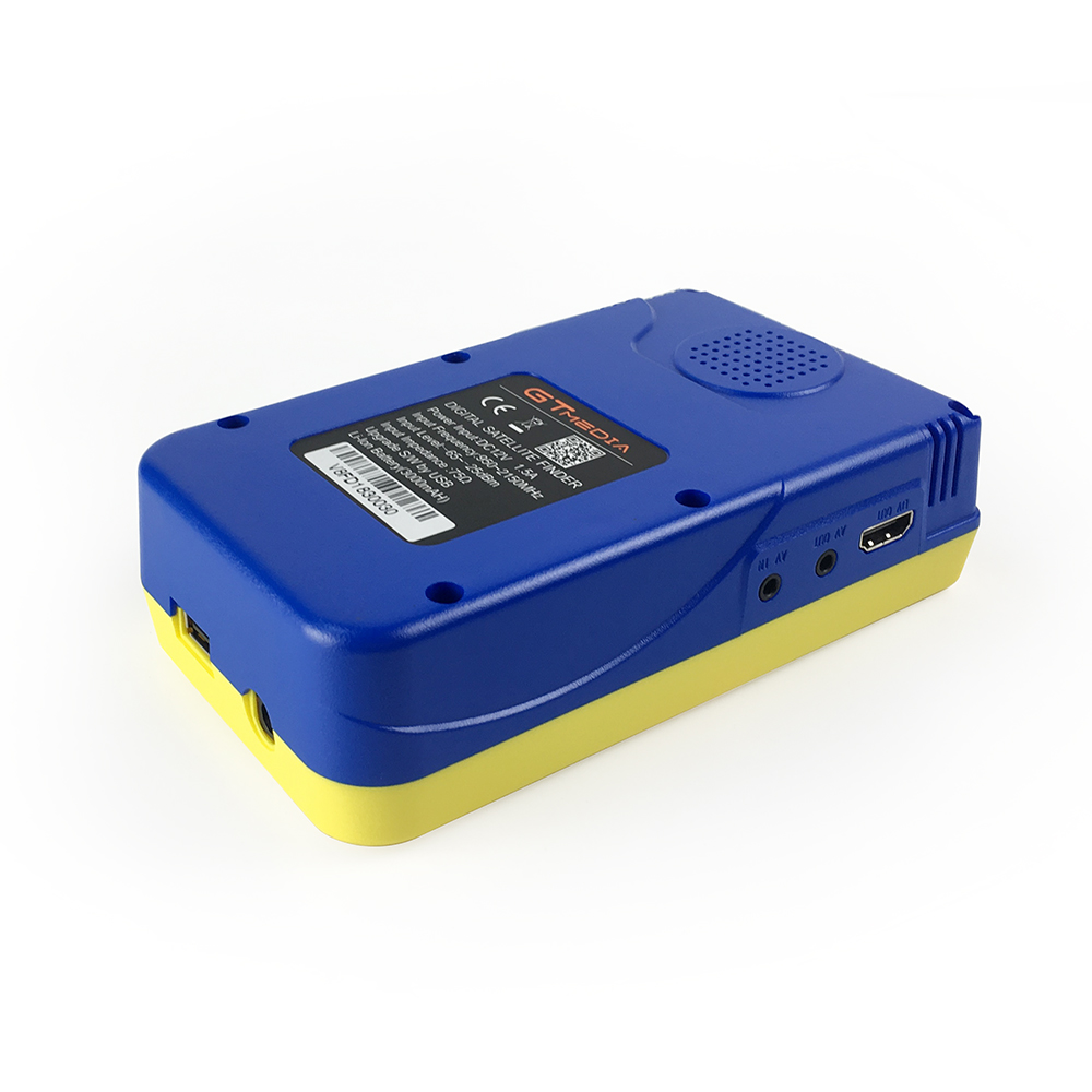 Satellite Finder Meter V8 Finder HD DVB S2 SatFinder MPEG2 MPEG4 with 3000mA Battery freesat V8 Finder FTA Sat finder GTMEDIA in Satellite TV Receiver from Consumer Electronics