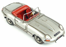 Free Shipping Handmade Vintage  Grey 1961 Supercar Model