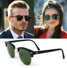 CHUN J47 Classic Retro Designer Reflective Mirror Sunglasses Men Women Brand Vintage Rivet Frame Colorful Coating Shades