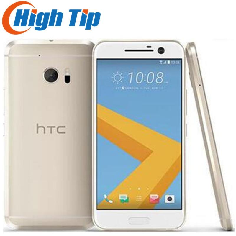 Desbloqueado Original HTC 10 M10 32 4 gb RAM gb ROM Quad Core Snapdragon 820 12MP Câmera Nano SIM Rápido 3.0 carregador de smartphones