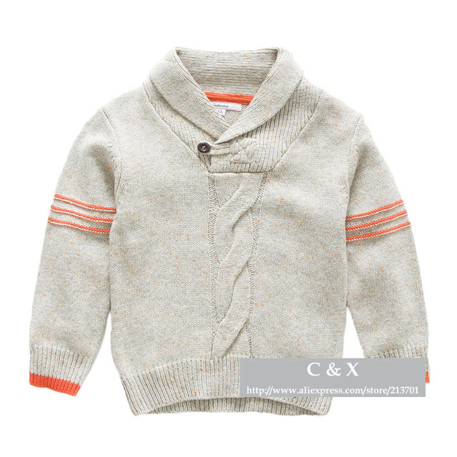 Well known Brand Children's Pullovers Sweater Fashion Long Sleeve Shawl  IP49
