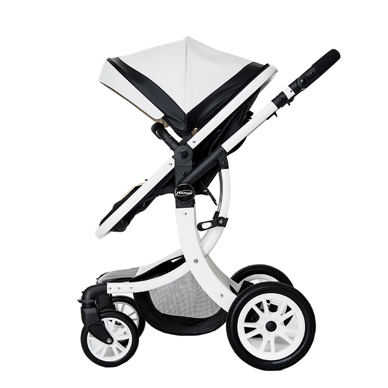 2 in 1 Baby Stroller Can Sit and Lie trolley Bidirectional Baby Stroller Shock Absorber Folding High Landscape Child Cart belecoo bei li ke high landscape baby cart trolley can sit and fold the double direction shock 3 in 1 baby stroller