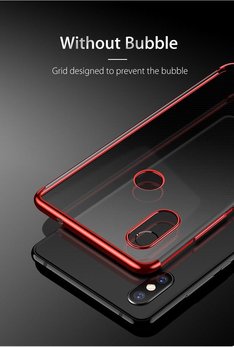 HTB1Fha XozrK1RjSspmq6AOdFXaV Case Capinha Capa de celular luxuosa original, capa tpu macio transparente, para xiaomi mi 8 mi8 se, xiaomi 8 lite explorer