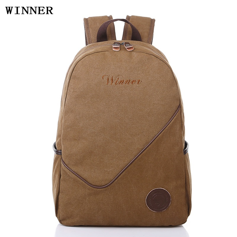 canvas backpack men bag large capacity 14 inch laptop backpacks for teenage boys students vintage school bags casual daypacks one2 2017 new design flamingo vintage school bag women bag men s laptop backpack for computer university students boys man