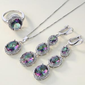 4Pcs/Set Multicolor Crystal Fa