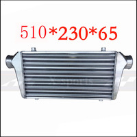 Car Cooling System Turbo Parts Radiator Intercooler Front Mount Universal High Quality Aluminum Silver Core Body 510*230*65