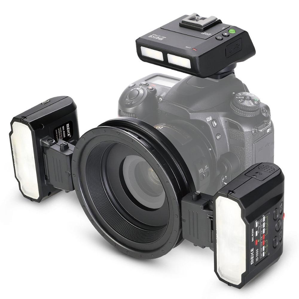 Meike MK-MT24 Macro Twin Lite Flash Flash pour Canon DSLR Caméra 70D 60D 760D 750D 550D 1100D 1200D EOS M /M2/M3