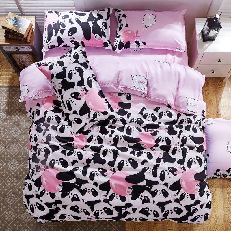 achetez en gros panda couette couvre en ligne des. Black Bedroom Furniture Sets. Home Design Ideas