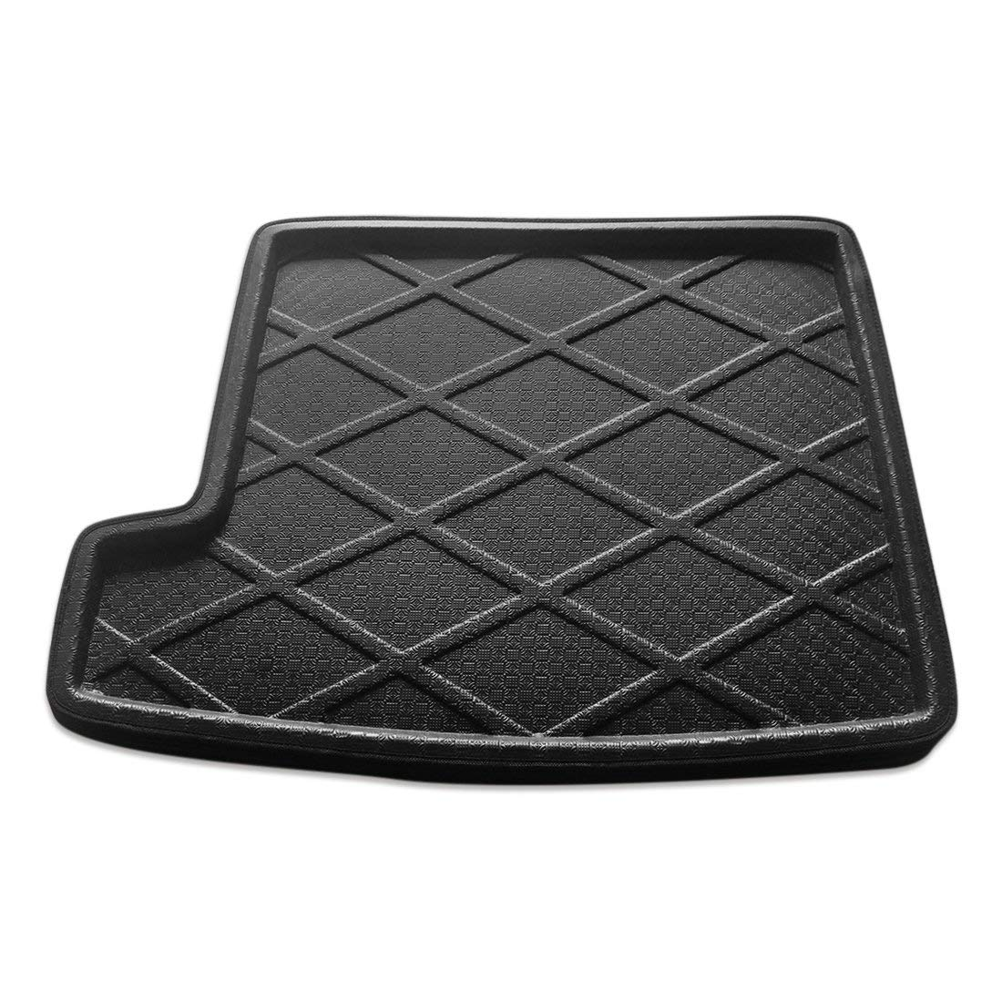 uxcell Black Rear Trunk Tray Boot Liner Cargo Floor Mat Cover for BMW X1 2010-2015