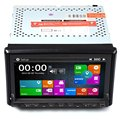7 inch Double 2Din WCE Car DVD Player GPS Navigation MTK3360 TPU Universal Auto Radio Audio Stereo In-dash 32G Flash for Vehicle