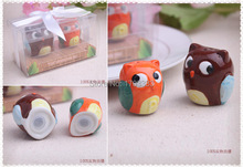 Wedding favors and wedding gifts for guests Baby shower Owl Always Love You Ceramic Salt and Pepper Shaker 100sets=200pcs