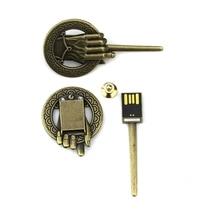 Game Of Thrones Stark Sigil 8GB USB Keychains Flash Drive 8GB Magnet Set House Loot Crate stark stark micro usb 1000ма