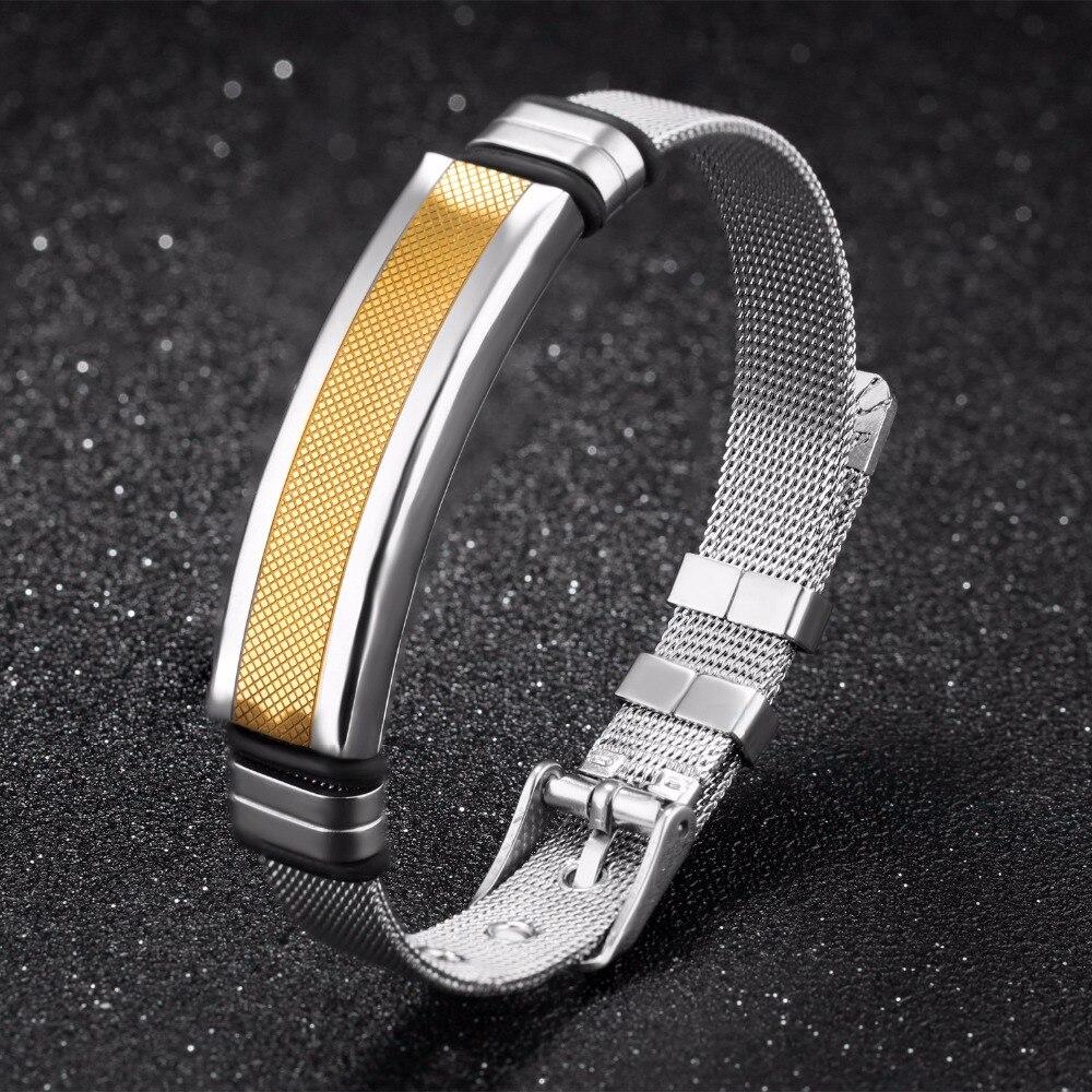 Купить мужской винтажный браслет из титановой стали регулируемый