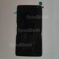 5,5 Дисплей для Alcatel Idol 4S OT6070 6070 К 6070y 6070 ЖК дисплей Экран с комплектом для замены цифрователя сенсорного экрана часть черный