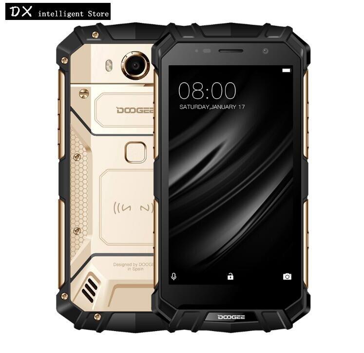 DOOGEE S60 lite 4 gb 32 gb IP68 Impermeabile SmartPhone 5.2 pollice MT6750T Octa Core 16.0MP Android 7.0 NFC OTG caricatore senza fili Del Telefono