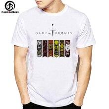 Game of Throne T Shirt Animal Vintage T-