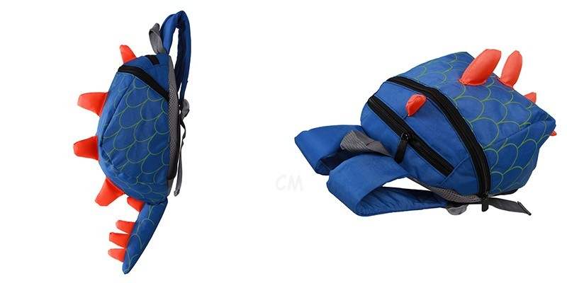 Dinosaur Anti lost backpack for kids Children Backpack aminals Kindergarten School bags for 1-4 years 3