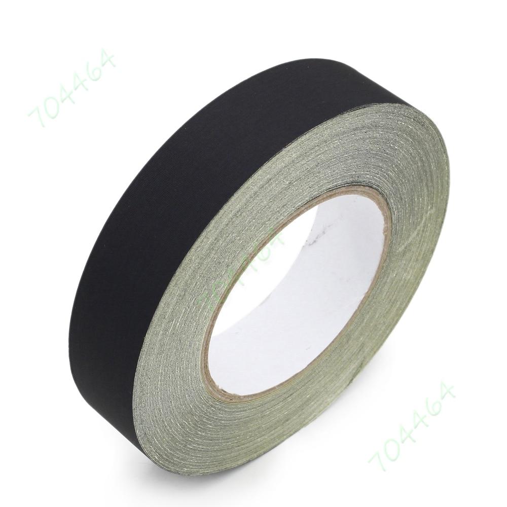19mm X 15m Wiring Harness Velvet Cloth Tape For Car Automotive Heat Black Resistant Gennel