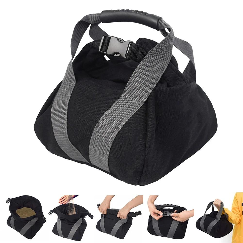 GEEDUD 2 Pcs Adjustable Kettlebell,Canvas Sandbags for Fitness Exercise Heavy Fitness Power Sandbag Workout Sandbag for Training Home Training Yoga