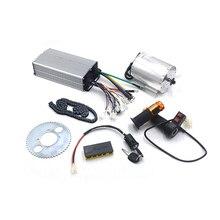1Set Electric Motor 72V 3000W, Brushless Motor Controller 48V- 72V 50A, Reverse Twist Throttle, Power Ignition Lock Scooter Kit
