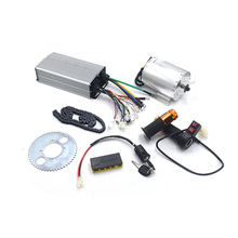 Conjunto de Motor Elétrico 72 1 V 3000 W, Controlador Do Motor Brushless 48 V 72 V 50A, reversa Torção Do Acelerador, o Poder de Ignição Scooter De Bloqueio Kit