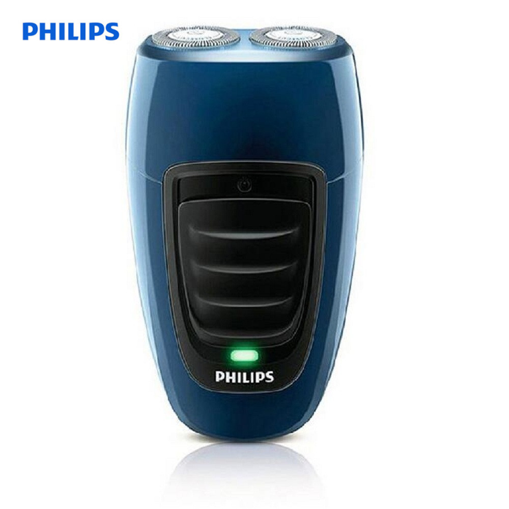 Philips PQ190 Rechargeable Electric Shaver For Men Twin Blade Philips Shaver Rotary 110-240V Barber Shaving Machine Dry Wet Use men s rechargeable rotary electric shaver