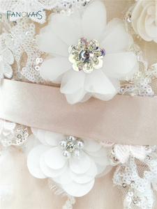 Image 5 - Sexy 2019 Blush Wedding Dresses with Crystal Spaghetti Straps Tulle Flower Wedding Gown Bridal Gown Vestido de Novia BT04