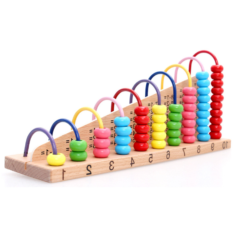 Funny Kids Wooden Toys Children Abacus Numbers Counting ...