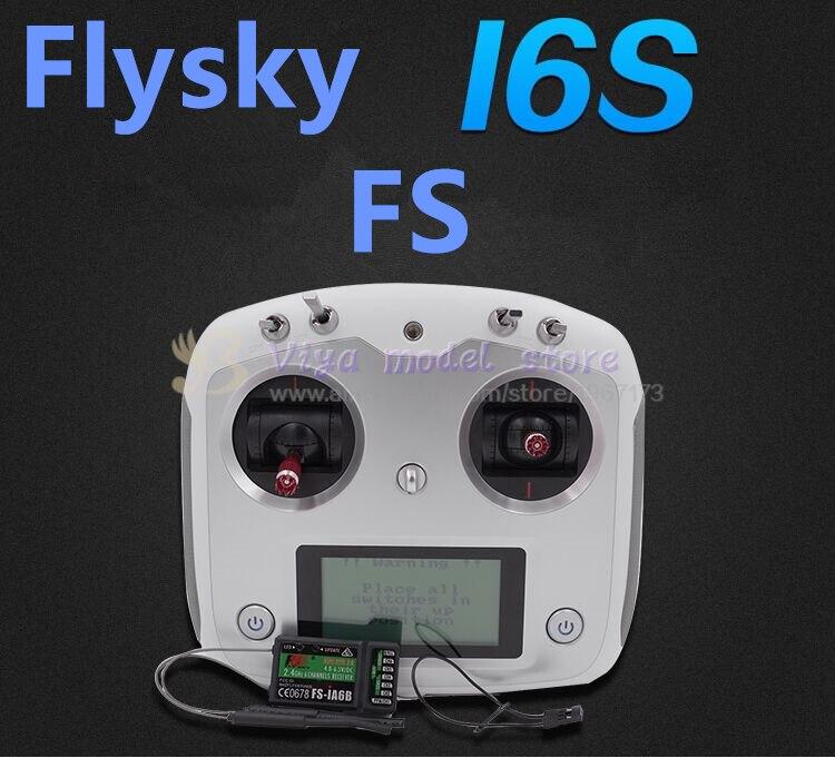 Новый flysky ФС И6 с 2.4 г 10ch равенства контроллер передатчик и иа6/iA6B приемник система с ЖК сенсорным экраном