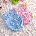 Los niños/niños/bebé/bebe verano lindo estampado de flores recién nacido/bebé traje de baño/traje de baño/traje de baño maillot de bain/traje de baño/traje de baño para niña