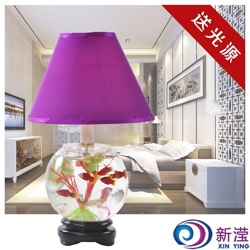 Nice Glass Fish Tank Decoration Lamp Modern Fish Tank Table Lamp Bedside Table  Lamp Table Lamp In LED Table Lamps From Lights U0026 Lighting On Aliexpress.com  ...