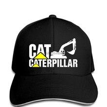 aedb860a124af Men Baseball cap Man New Caterpillar Logo Black funny cap novelty cap  women(China)