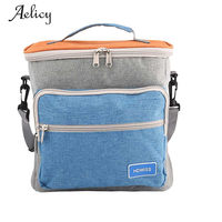 Aelicy Picnic Thermal Bag Oxford Insulated Lunch Bags Women Kids Men Lunch Box Bag Cooler Thermo