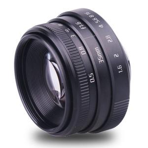 Image 4 - new arrive fujian 35mm f1.6 C mount  camera CCTV Lenses II for N1 Fujifilm Fuji NEX Micro 4/3 EOS B